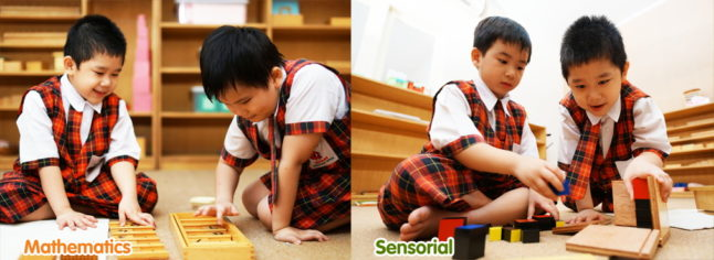 Cherry Montessori School Mathematics Sensorial Slide1