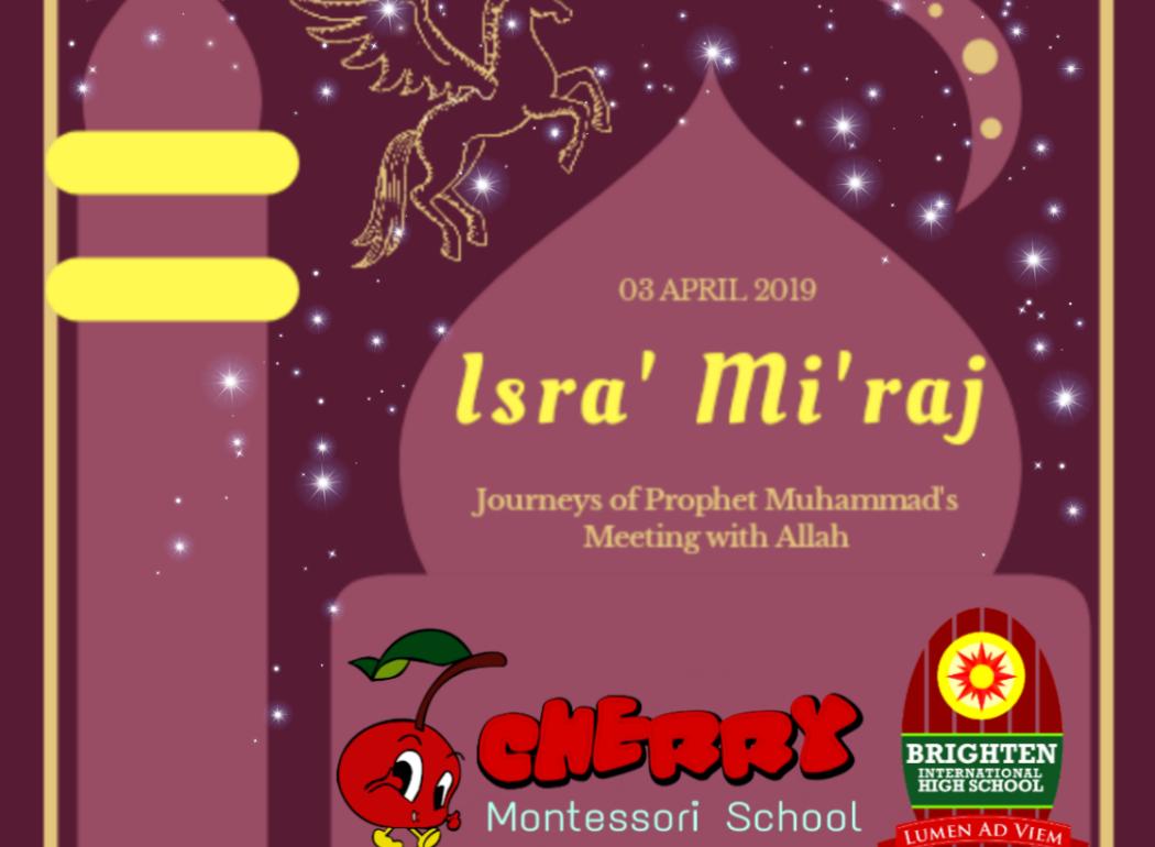 Cherry-Montessori-Harapan-Indah-Bekasi-Isra-Miraj